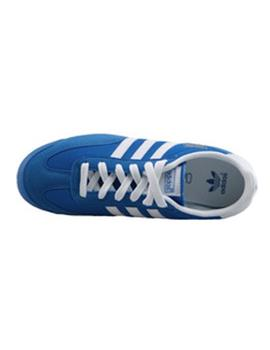 Zapatillas Adidas Dragon J Azul/Blanco