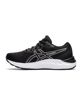 Zapatillas Asics Gel-Excite 8 GS Negro/Blanco