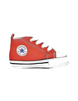 Zapatillas Converse First Star Rojo