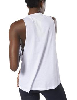 Camiseta Reebok GS Foundations Blanco