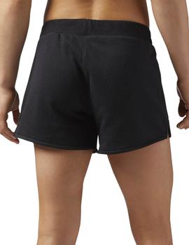 Short Reebok TE Simple Negro