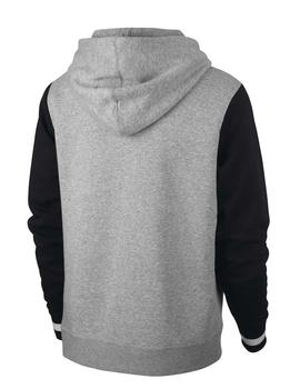 Sudadera M NSW Nike Air Gris