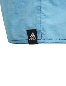 a3cb77bef840 Bañador Adidas YB Solid SH SL Azul