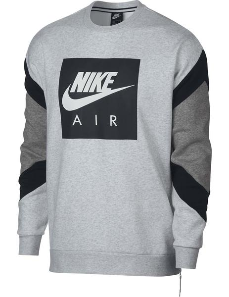 Air Crew Gris Nike Sudadera M Nsw Flc ZuiPkTXO