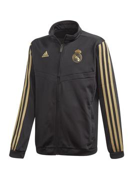 Chandal Adidas Real Pes Suit Y Negro/Oro