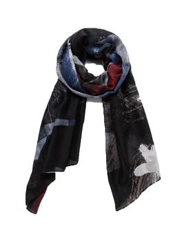 Foulard Desigual Roots Negro/Multicolor