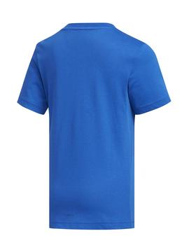 Camiseta Adidas LB Cotton Azul