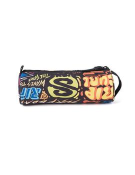Estuche Rip Curl Pencil Case 2CP Multicolor
