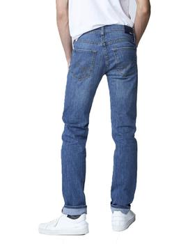 Pantalon Gas Morris Denim Azul