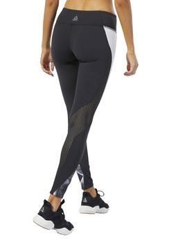 Mallas Reebok OS Perfcb Tight 2.0  Negro/Blanco