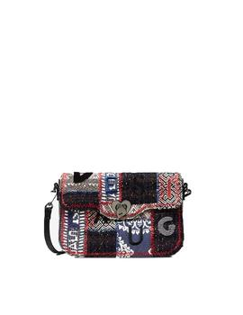 Bolso Desigual Patch 1968 Amorgos Multicolor
