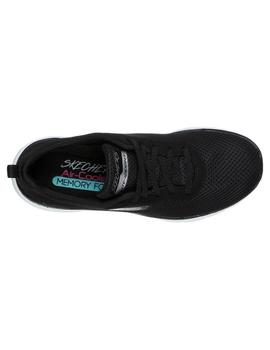 Zapatilla Skechers Mujer Flex Appe First Ins negro