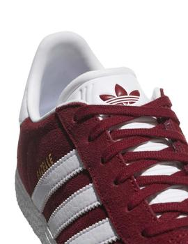 Zapatillas Adidas Gazelle J Granate