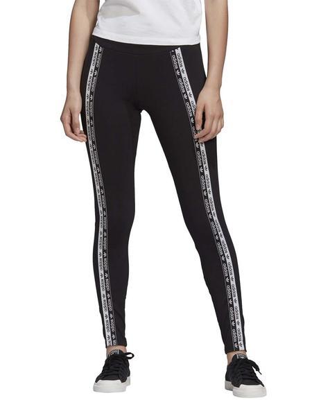 blanco lechoso Barra oblicua Dempsey  Mallas Adidas Originals Tights Negras Para Mujer