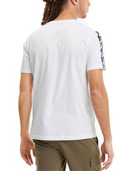 Camiseta Puma Amplified Blanco Para Hombre