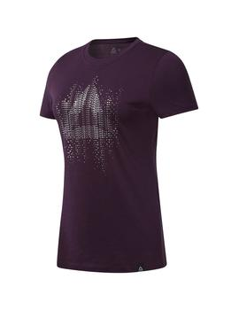 Camiseta GS Motion Dot Crew Violeta