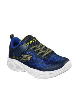 Zapatillas Skechers S Lights Vortex Flash Marino/A