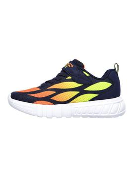 Zapatillas Skechers S Lights Fex Dezlo Multicolor