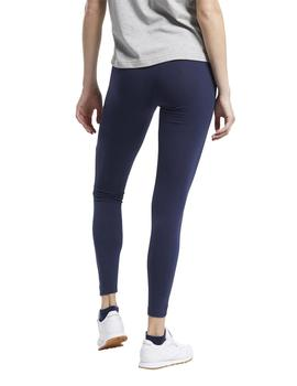 Leggings Reebok CL D Big Vector Marino Mujer