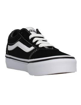 Zapatillas Vans Ward Negro/Blanco (Suede/Canvas)