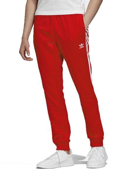 Endurecer Cirugía almohada  Pantalon Adidas SST TP P Rojo/Blanco Hombre