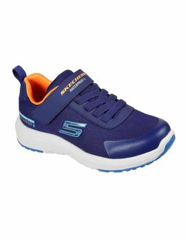 Zapatillas Skechers Dynamic Hydrode WP Marino Niño