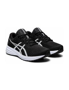 Zapatillas Asics Patriot 12 GS Negro/Blanco