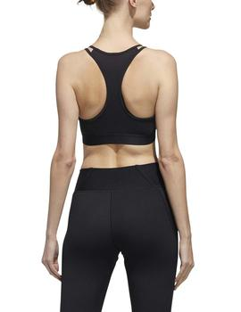 Top Adidas W E BT Negro Mujer