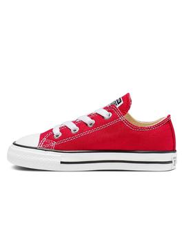 Zapatillas Converse AS OX Canvas Rojo